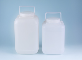 HDPE Wide Mouth Square Jars Manufacturer