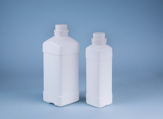 Narrow Wide Mouth Square Bottle manufacturer
